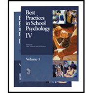 Best Practices In School Psychology Iv by Alex Thomas