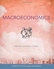 Macroeconomics  by James D Gwartney