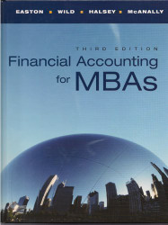Financial Accounting For Mbas - Peter Easton