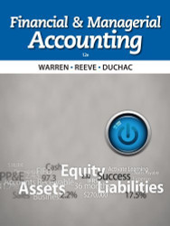 Financial and Managerial Accounting by Warren Carl S.
