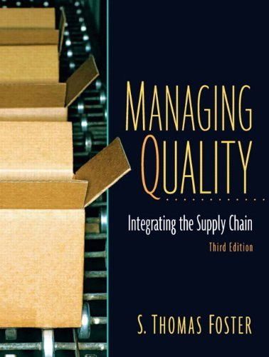 Managing Quality