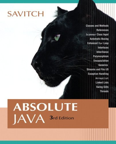 Absolute Java