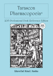 Tarascon Pharmacopoeia 2015 Professional Desk Reference Edition