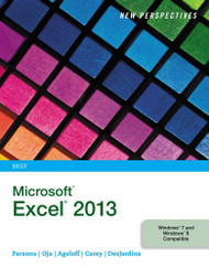 New Perspectives On Microsoft Excel 2013 Brief