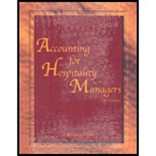Accounting For Hospitality Managers