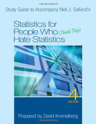 Study Guide To Accompany Neil J Salkind's Statistics For People Who