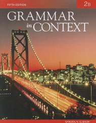 Grammar In Context 2B