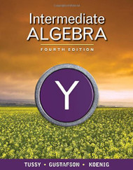 Intermediate Algebra by Alan Tussy