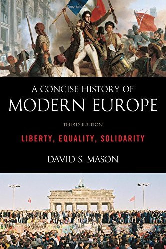 Concise History Of Modern Europe