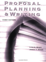 Proposal Planning and Writing by Lynn Miner