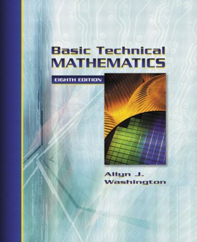 Basic Technical Mathematics