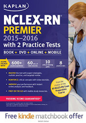 Nclex-Rn Premier 2015-2016 With 2 Practice Tests