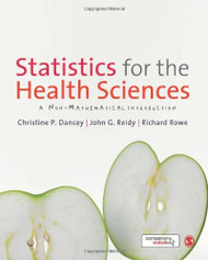 Statistics For The Health Sciences