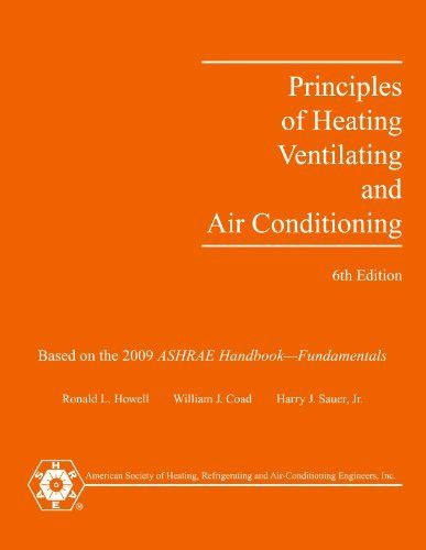 Principles Of Heating Ventilating And Air-Conditioning