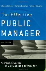 Effective Public Manager