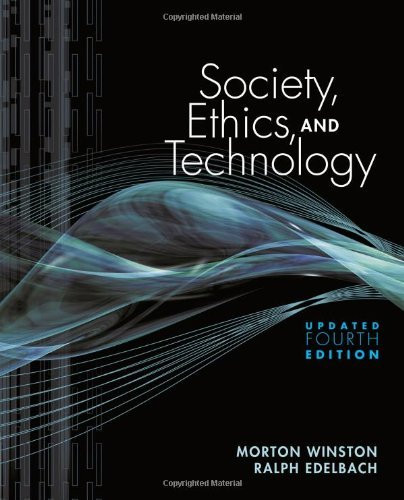 Society Ethics And Technology