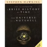 Illustrated A Brief History Of Time / The Universe In A Nutshell Two Books by Stephen