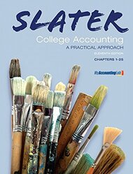 College Accounting by Jeffrey Slater