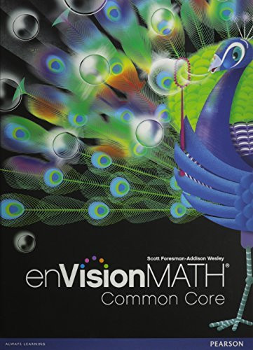 envision math homework book answers