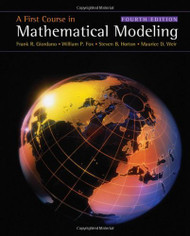 First Course In Mathematical Modeling