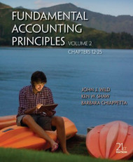 Fundamental Accounting Principles Volume 2