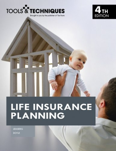 Tools And Techniques Of Life Insurance Planning