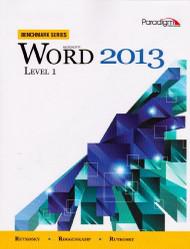MicrosoftWord 2013 Level 1