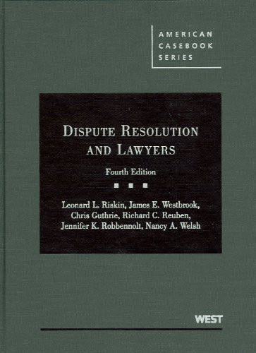 Dispute Resolution And Lawyers