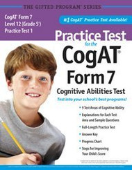 Practice Test For The Cogat Form 7 Level 12 Grade 5