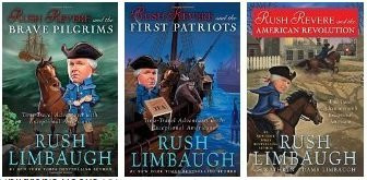 Rush Revere And 3 Book Series Set
