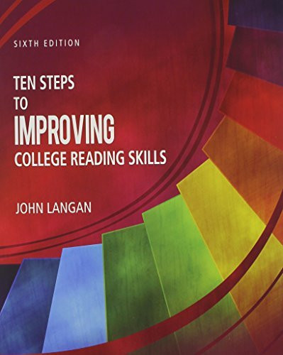 Ten Steps Of Improving College Reading Skills
