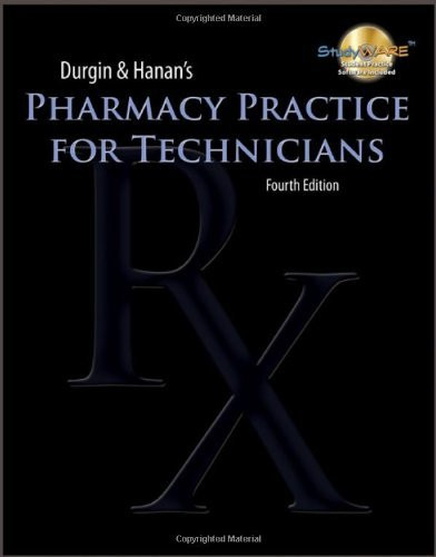 Pharmacy Practice For Technicians