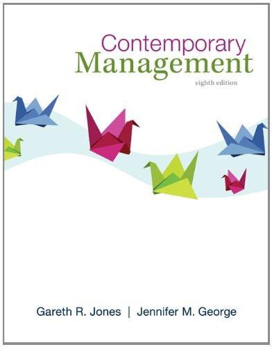 Contemporary Management