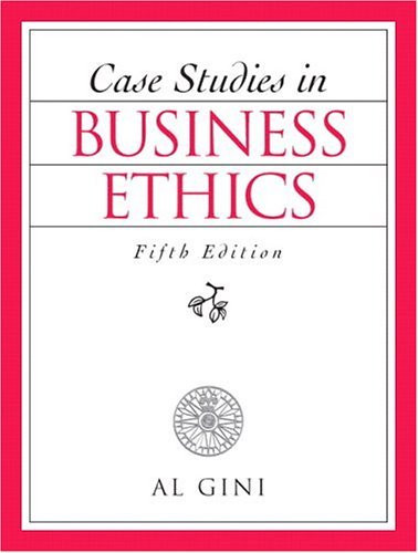 business ethics case studies with answers