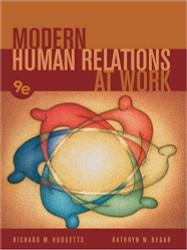 Modern Human Relations At Work