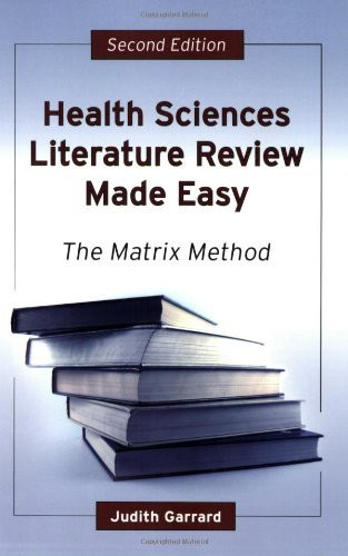 literature reviews made easy Literature reviews made easy a quick guide to success by: paula dawidowicz, walden university published 2010 this book is designed to help you achieve one specific goal it's not designed to give you the philosophies of conducting research.