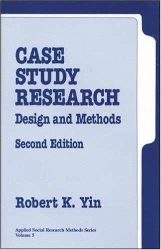 case study book by yin Robert k yin is president of cosmos corporation earlier editions of the present book have been translated into eight a case study reader robert k yin.