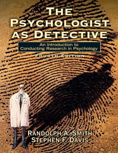 Psychologist As Detective