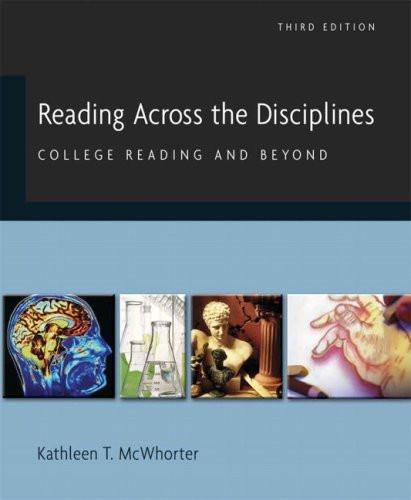 Reading Across The Disciplines