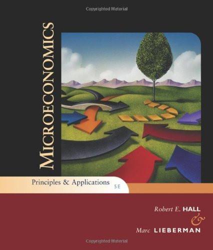 Microeconomics Principles And Applications