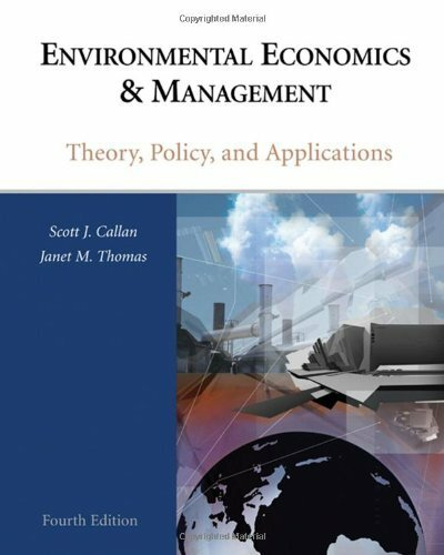 environmental economics and management callan pdf