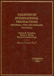 Taxation Of International Transactions