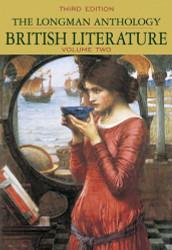 Longman Anthology Of British Literature Volume 2