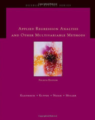 Applied Regression Analysis And Other Multivariable Methods