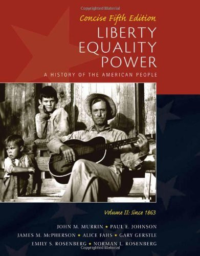 Liberty Equality Power Volume 2 Concise Edition