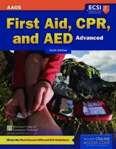 First Aid Cpr And Aed - Advanced