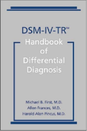 dsm-5tm handbook of differential diagnosis pdf