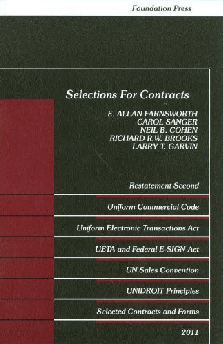 Farnsworth on Contracts 2016, 3rd edition, Cumulative Supplement