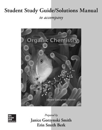 Study Guide / Solutions Manual For Organic Chemistry