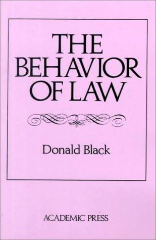 Behavior Of Law